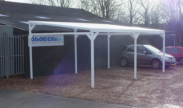 Free Standing Lean-To Canopy