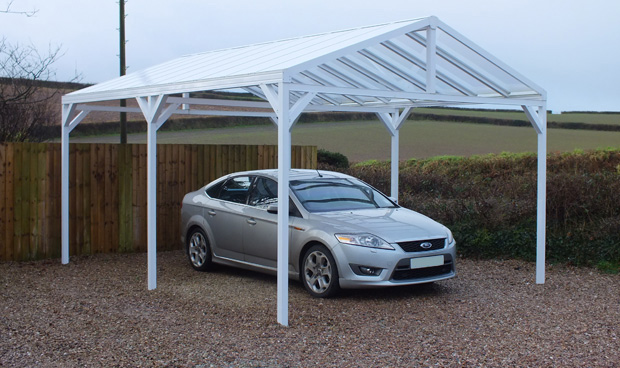 Omega Canopies Gable Roof Canopy