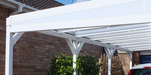... Glass Canopies and Free Standing Roof Canopy ... & Aluminium Canopy Kit u0026 DIY Aluminium Carport Kits | Canopies UK