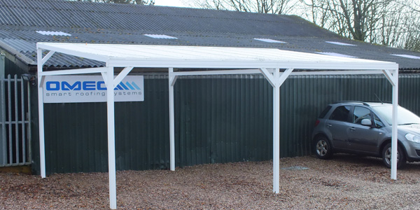 ... Lean-To Canopies ... & Aluminium Canopy Kit u0026 DIY Aluminium Carport Kits | Canopies UK